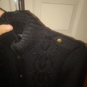 Women's black Talbot's sweater Size medium